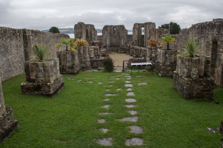 Landevennec Abbey ruins, The Nave