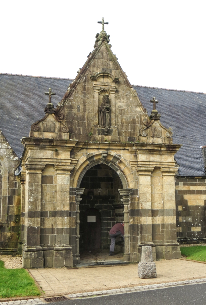 The South Porch of the Church of St Audoen, Rosnoen
