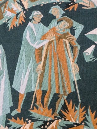 Details from the above Portalegre tapestry