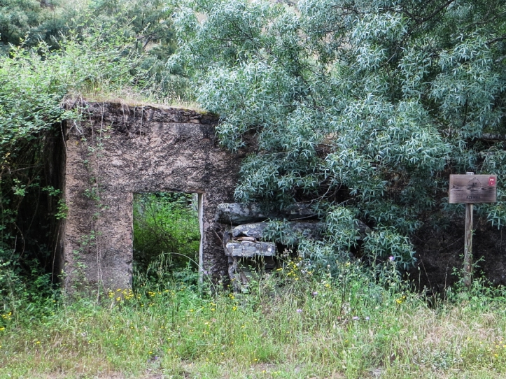 Abandoned mill on the River Nisa