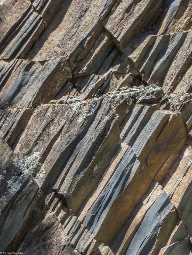 Rock formations at Velada