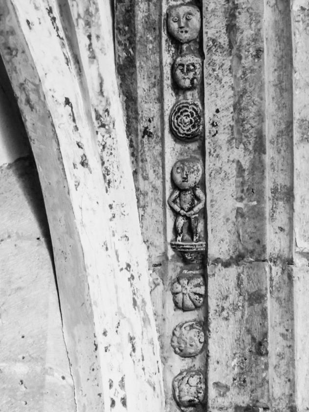 Carving in the Church of the Pousada at Palmela