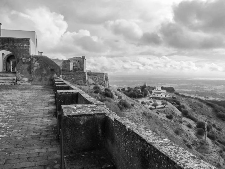 Outlook from the Castle, Pousada at Palmela