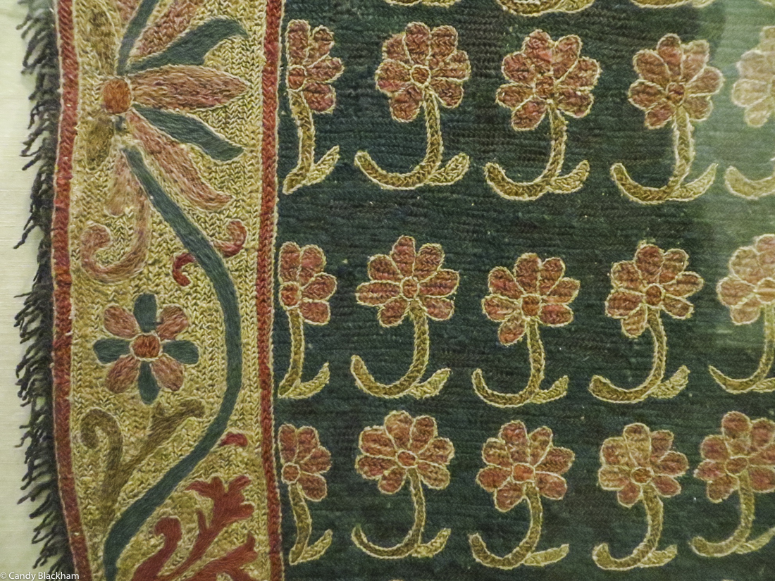 17C Arraiolos Carpet in the Museum