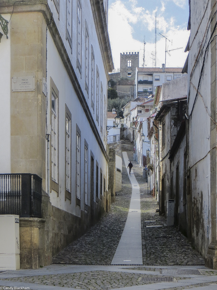 The old town, Castelo Branco
