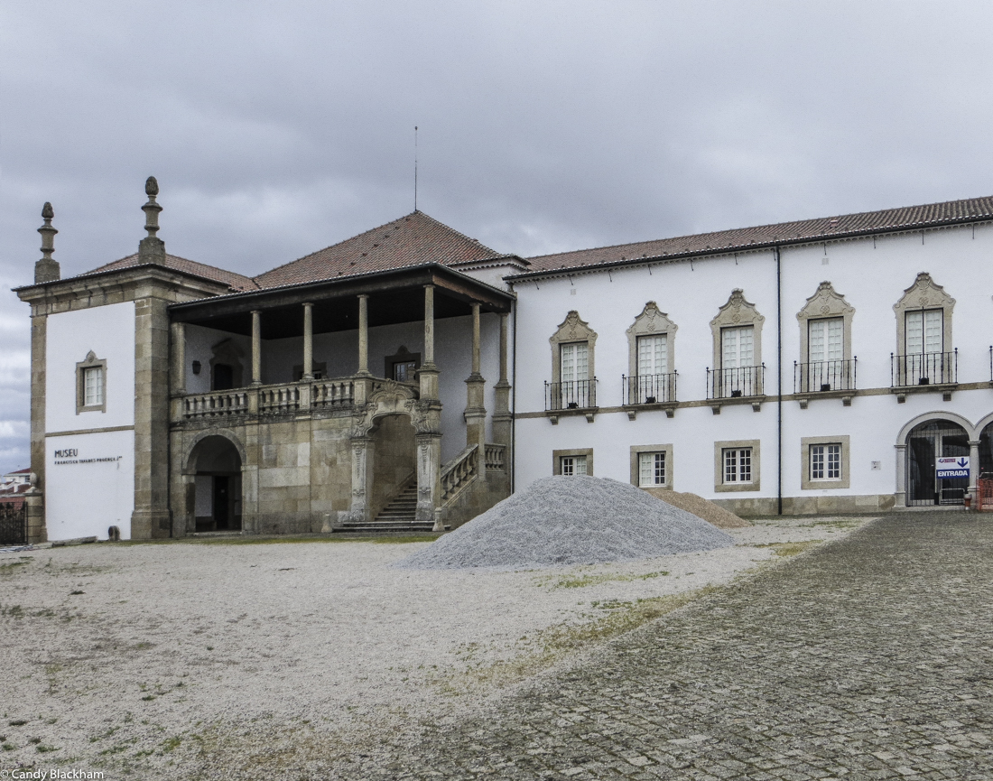 The Bishop's Palace and Museum of Tavares Proenca Junior in Castelo Branco