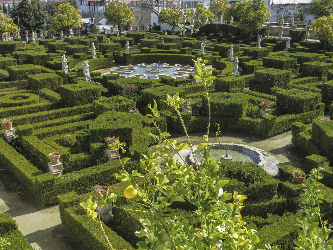 The Bishop's Palace Gardens, Castelo Branco