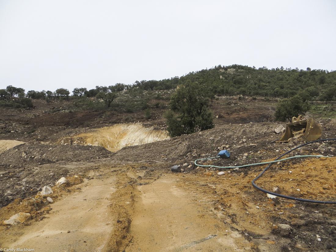Excavation at Carreiras
