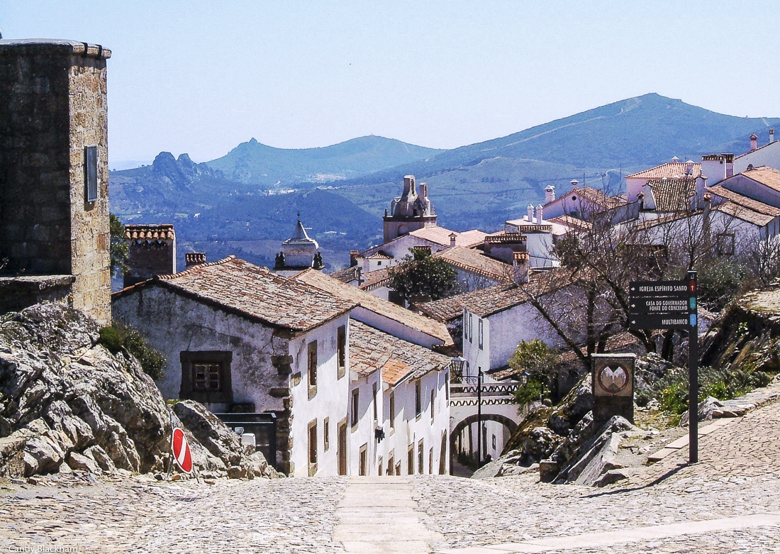 Marvao, looking towards Castelo do Vide