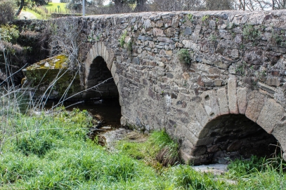 Choconal, Roman Bridge below Crato