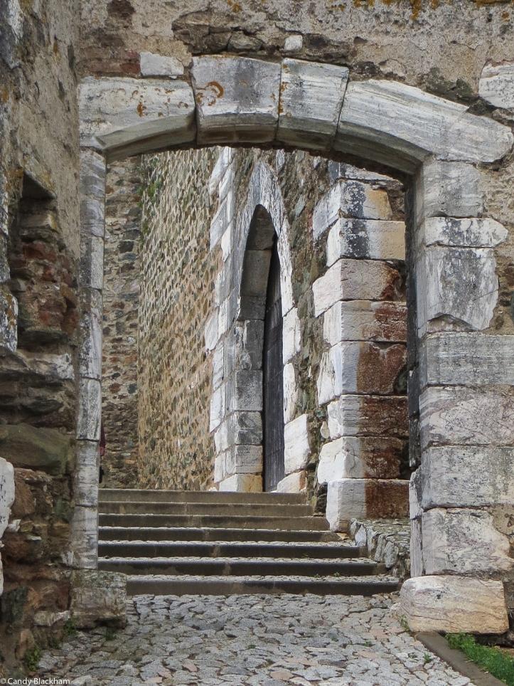 Gates into the Castle of Portel