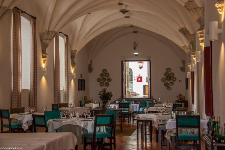 The Dining Room in the Pousada of St Francis, Beja