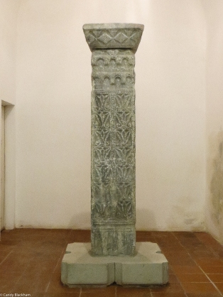 Columns in the Visigothic Museum from 5C-8C
