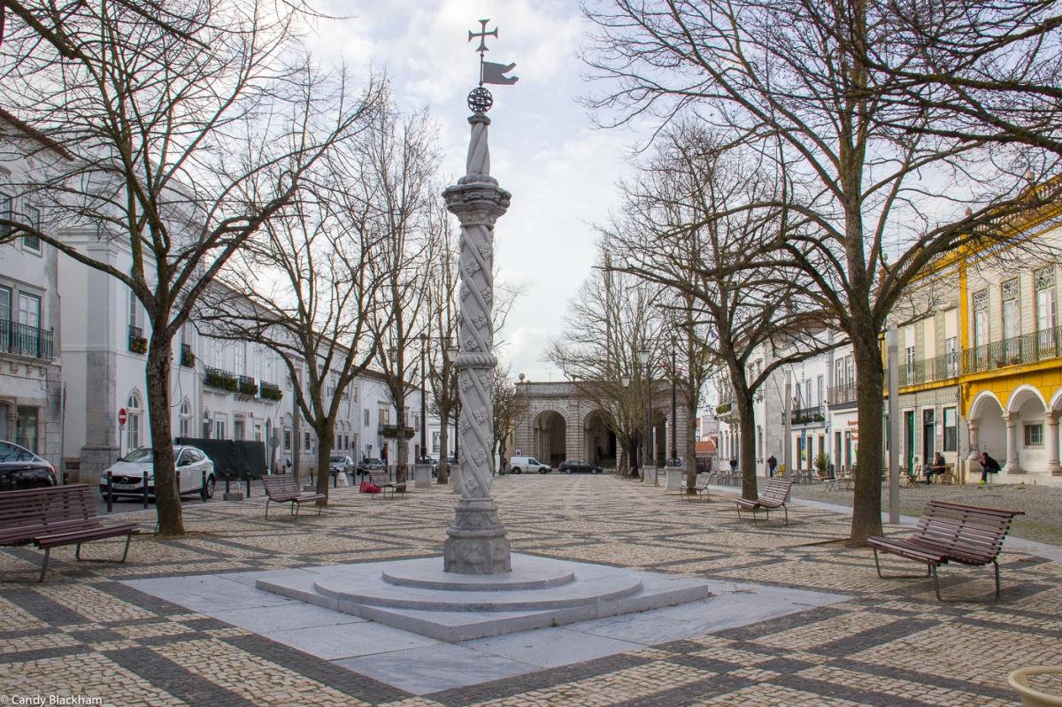 The Republic Square in Beja