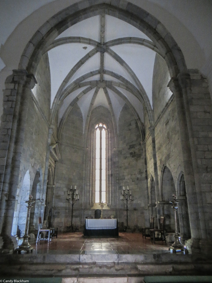 The Gothic Chapel in the Pousada St Francis, Beja
