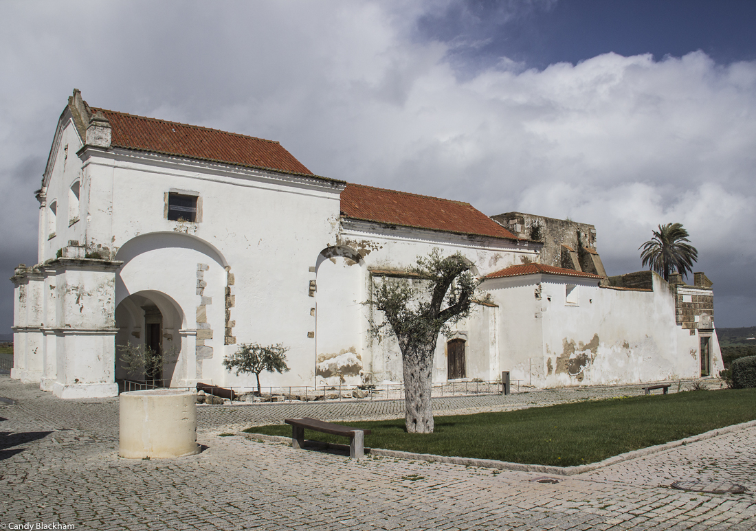 Church inside the Castle Walls, Moura - the former Convent of the Dominicans