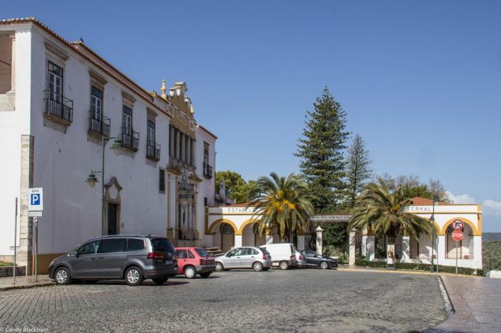 The entrance to the Garden of Dr Santiago, Moura