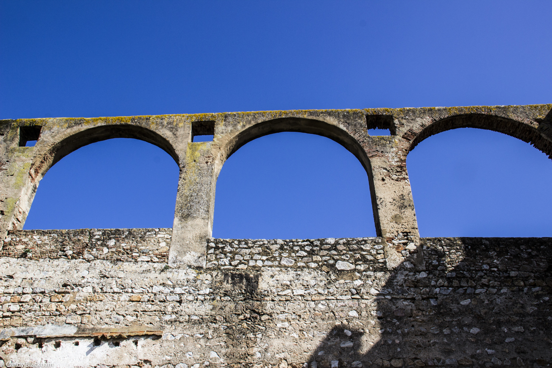 The aqueduct at Serpa