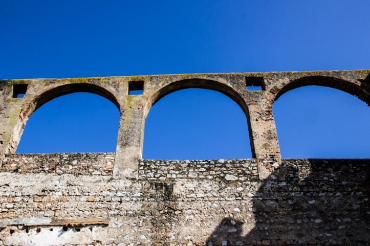 The aqueduct at Serpa