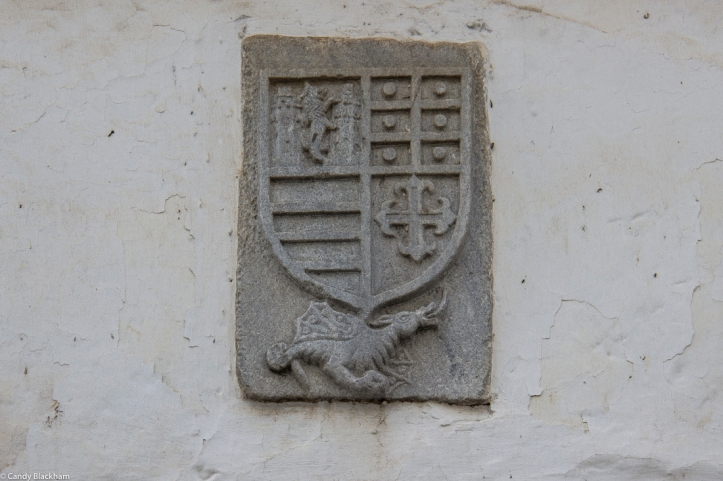 Crest on The Count of Ficalho Manor House