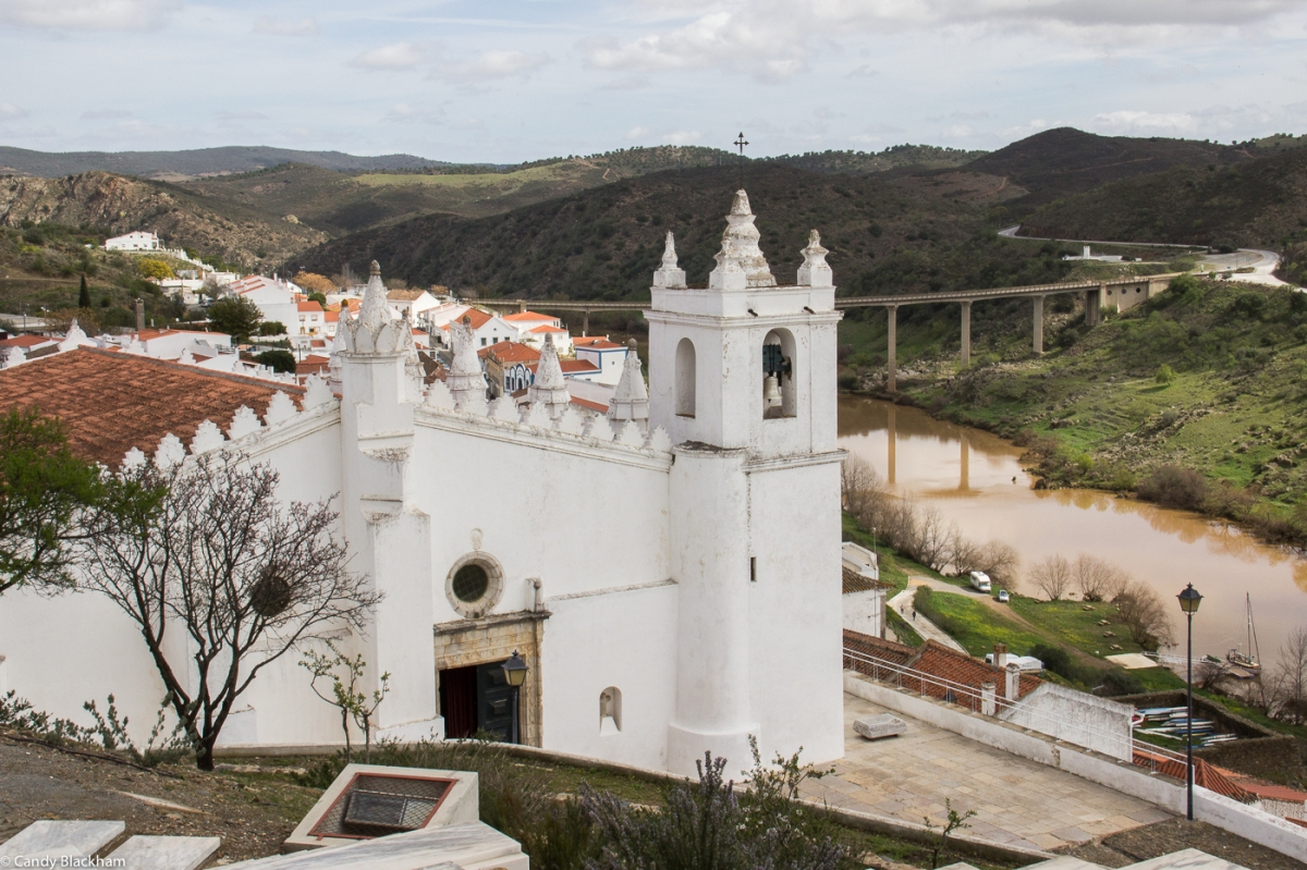 The Mosque and now the Parish Church in Mertola