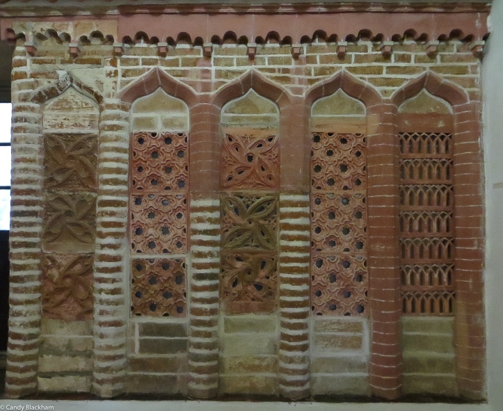 15C Terracotta grill from a passageway linking the Convent to the Palace