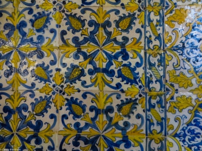 Tiles in the Cloisters
