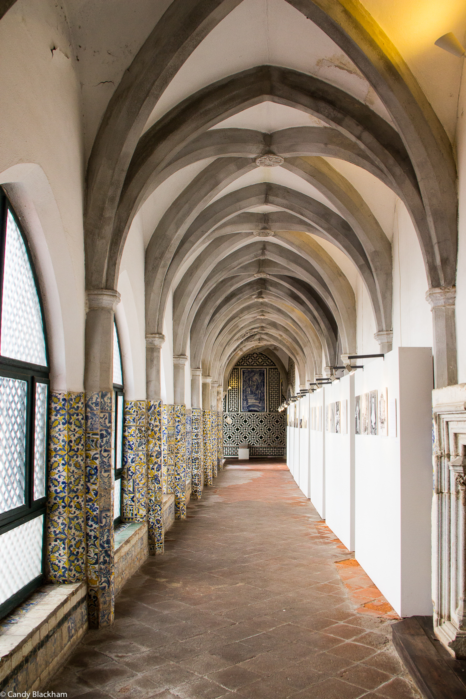 Entrance Hall Court in the Cloisters