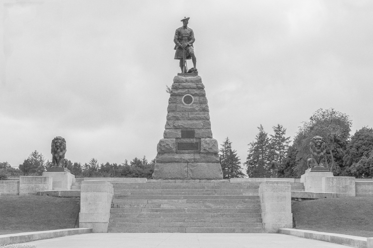 The 51st (Highland) Division Memorial at Beaumont-Hamel