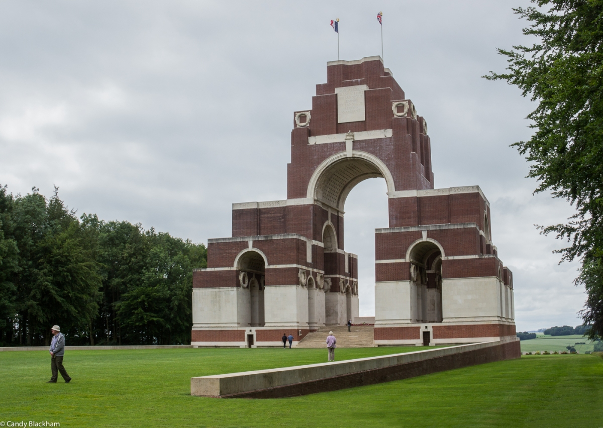 The Thiepval Memorial