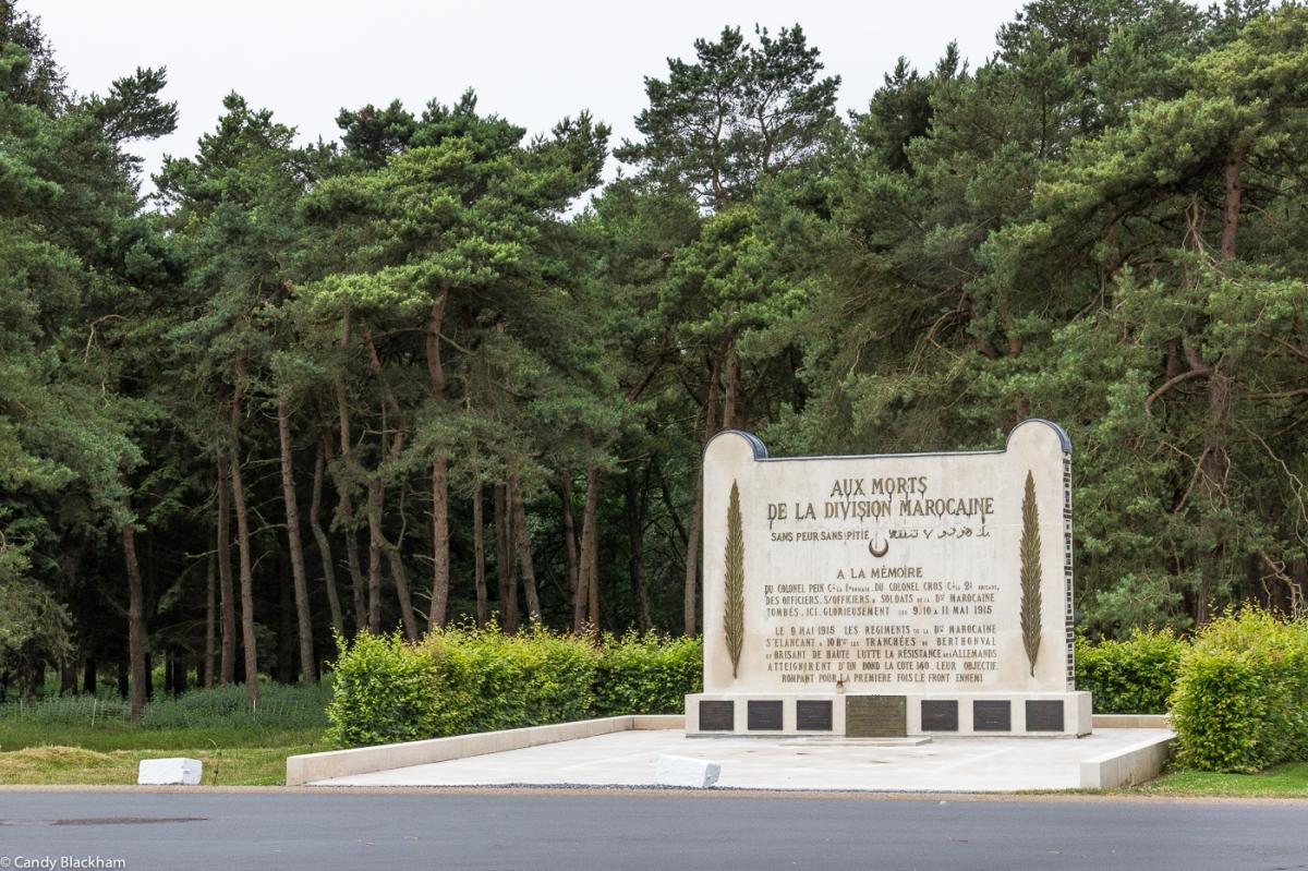 Moroccan Memorial at Vimy Ridge