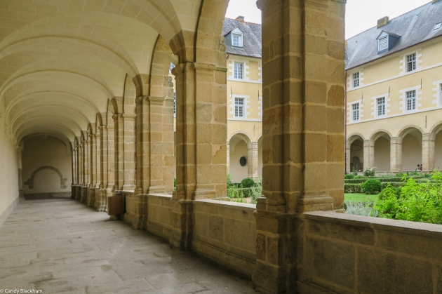 The Cloisters in the Abbey of Saint Sauveur, Redon