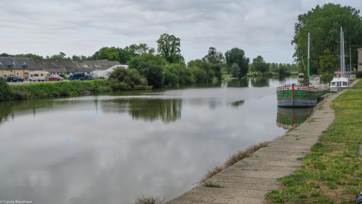 The Vilaine River in Redon