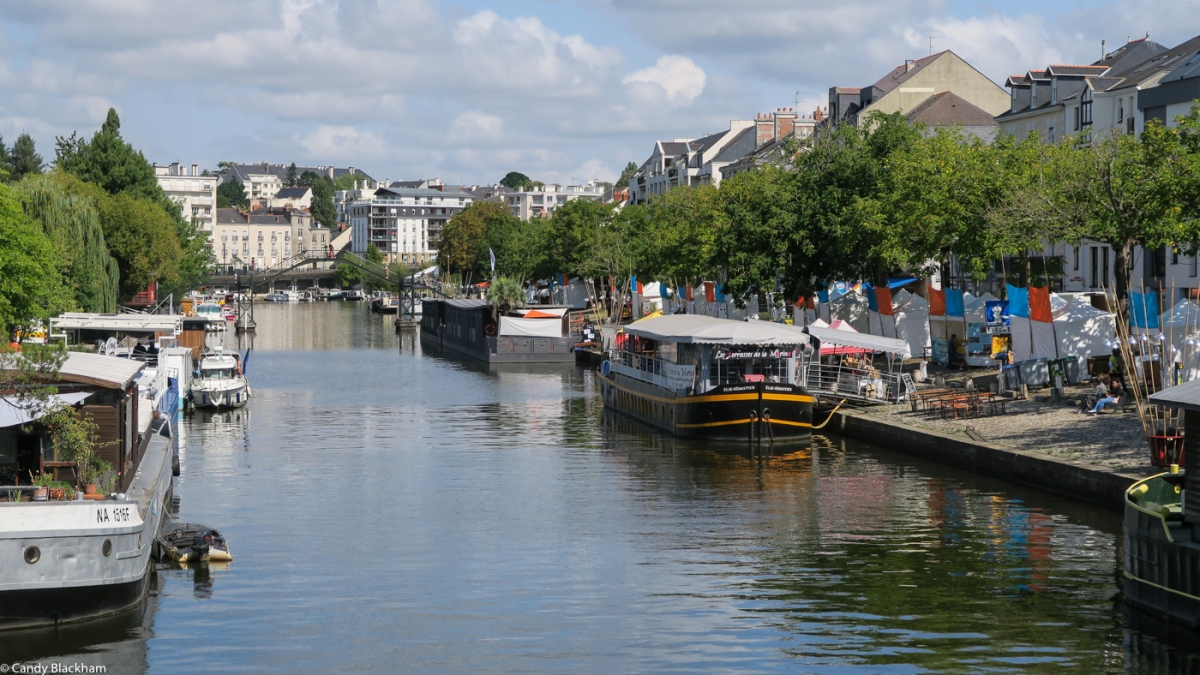 The River Erdre, Nantes