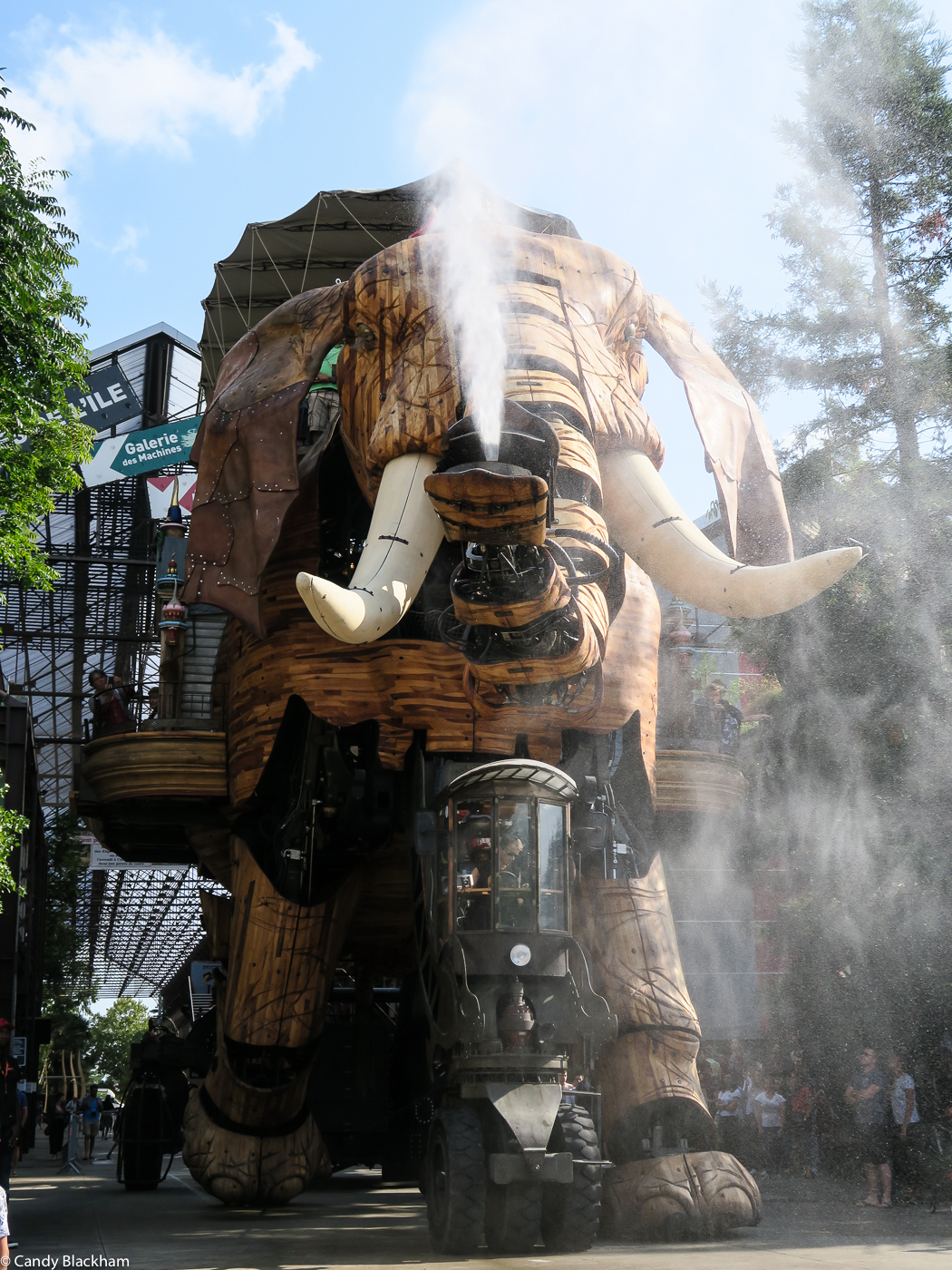 The Mechanical Elephant, Nantes