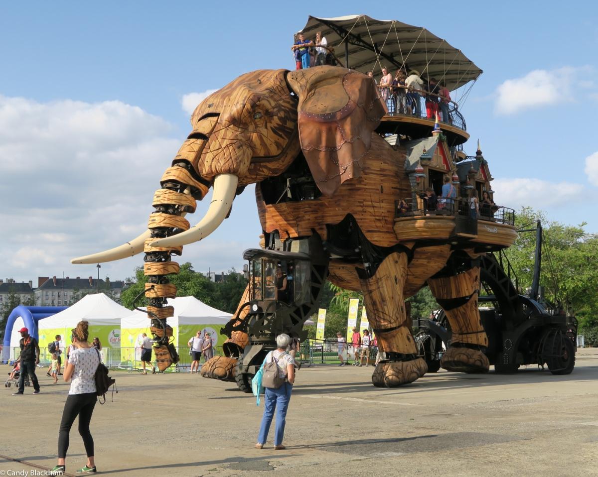 The Mechanical Elephant, Nantes