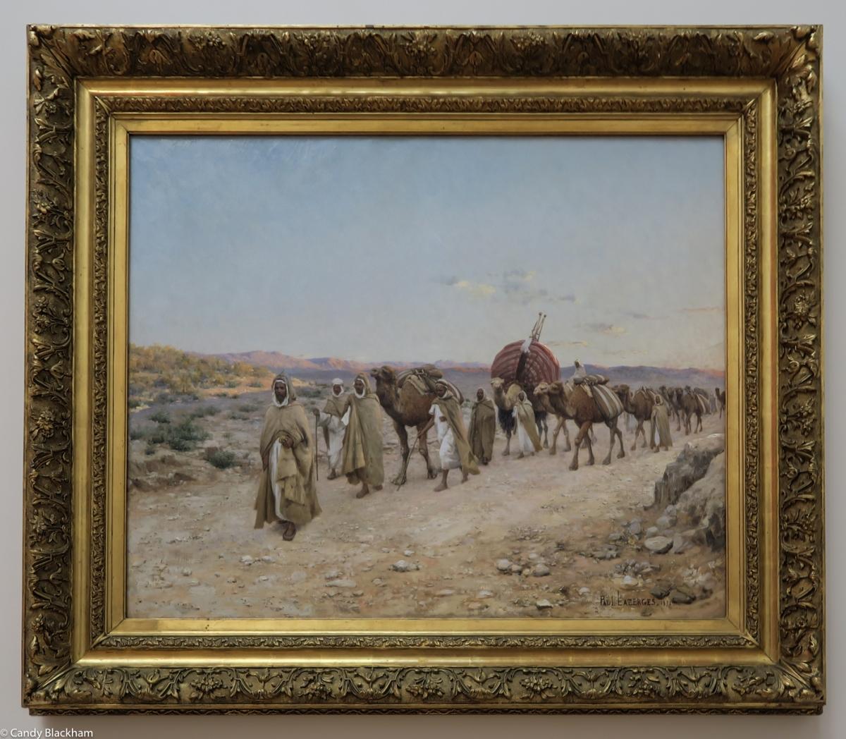 Paul Lazerges, 'Caravan near Biskra, Algeria', 1892