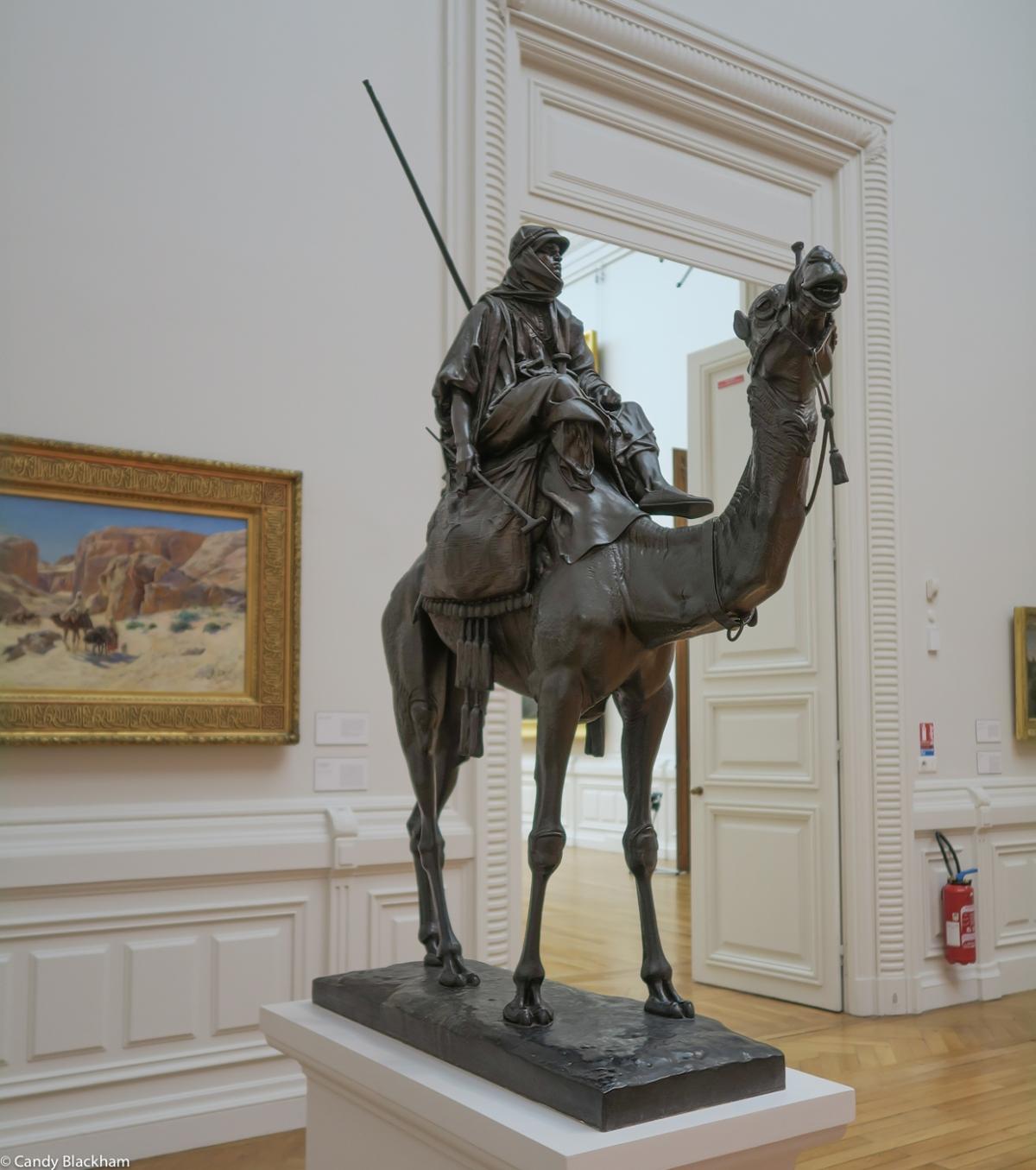 Henri Jacquemart, 'Camel Driver', 1869