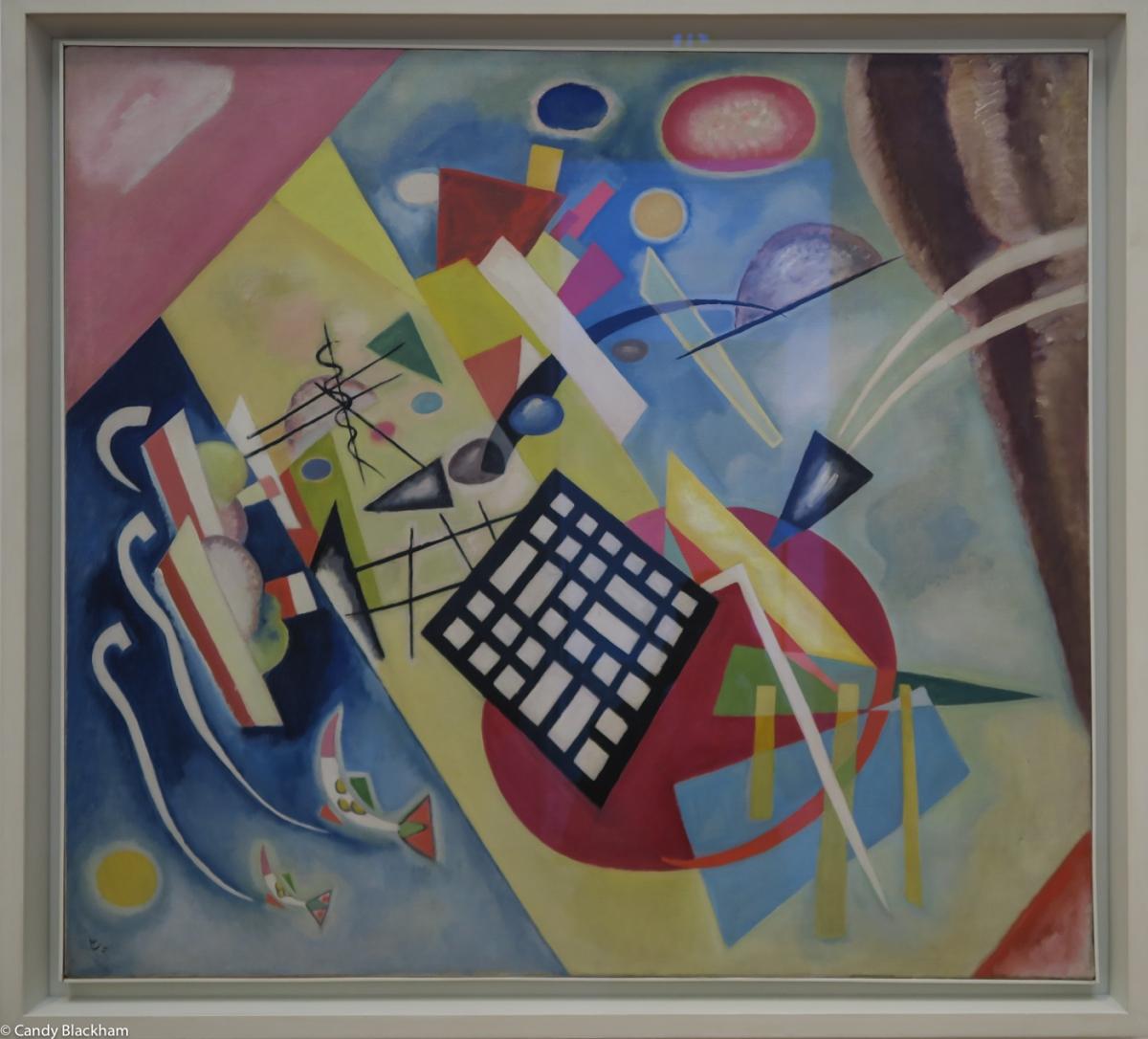 Kandinsky, 'The Black Frame', 1922