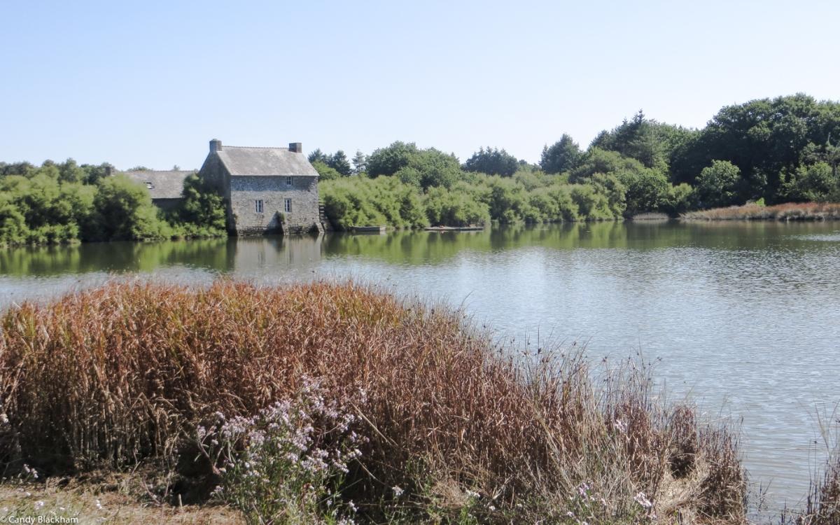 The mill on the Ruisseau du Demi-Ville, Listoir