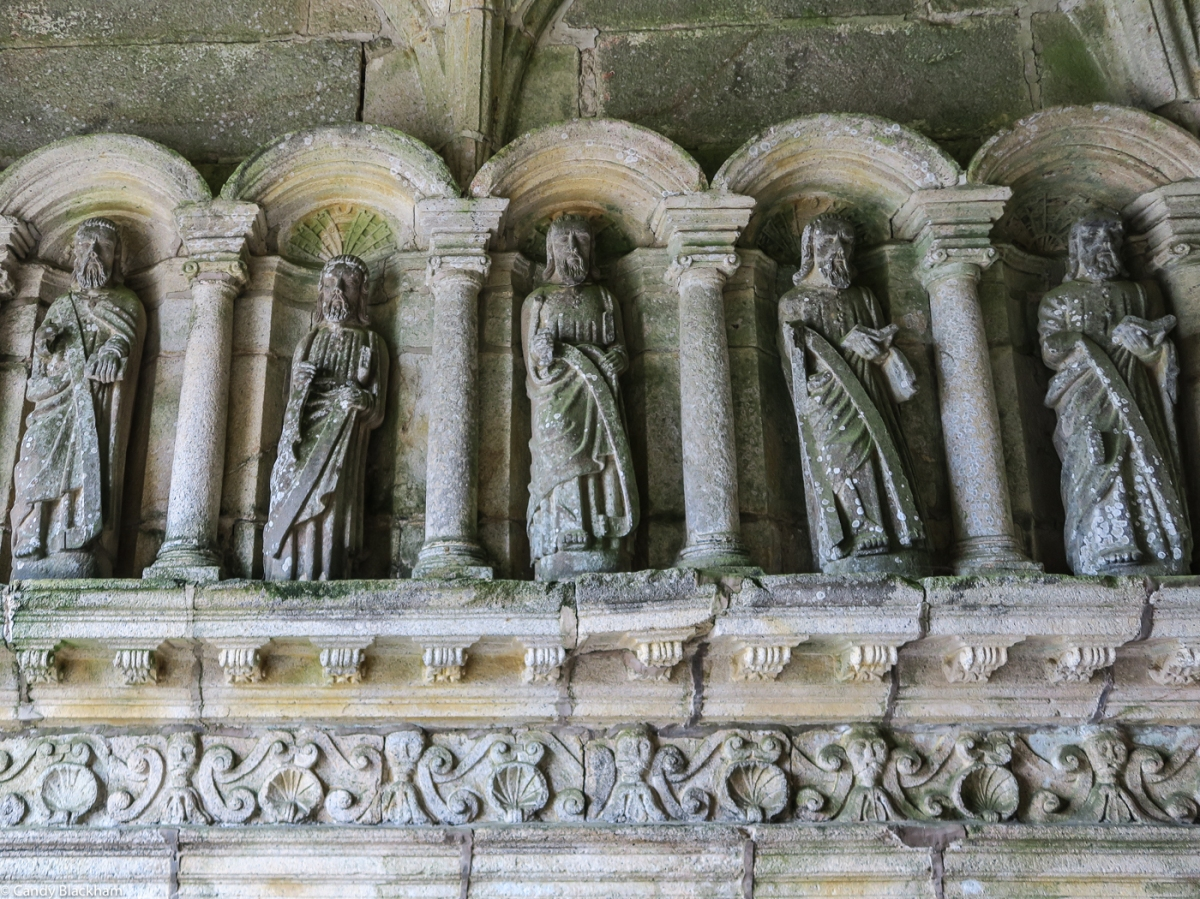 The Apostles in the South Porch of Lanhouerneau