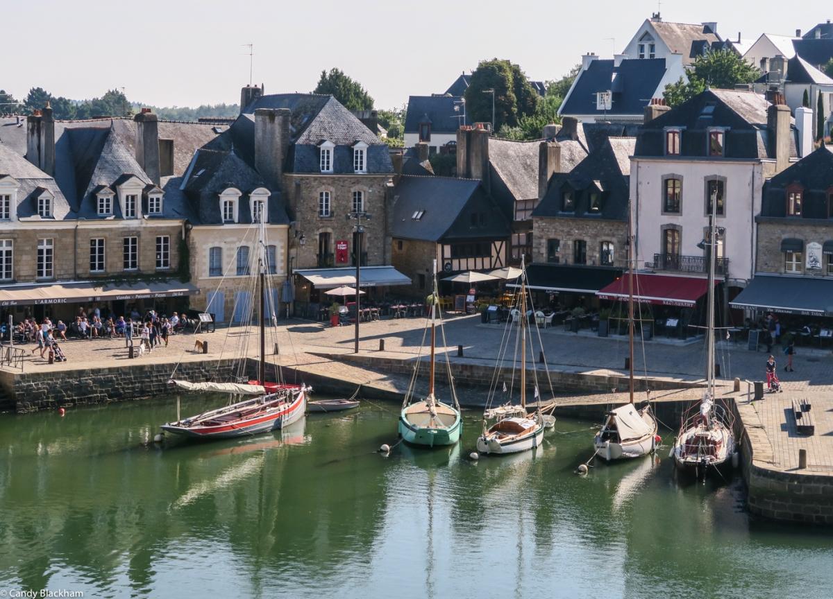 The Port of St Goustan