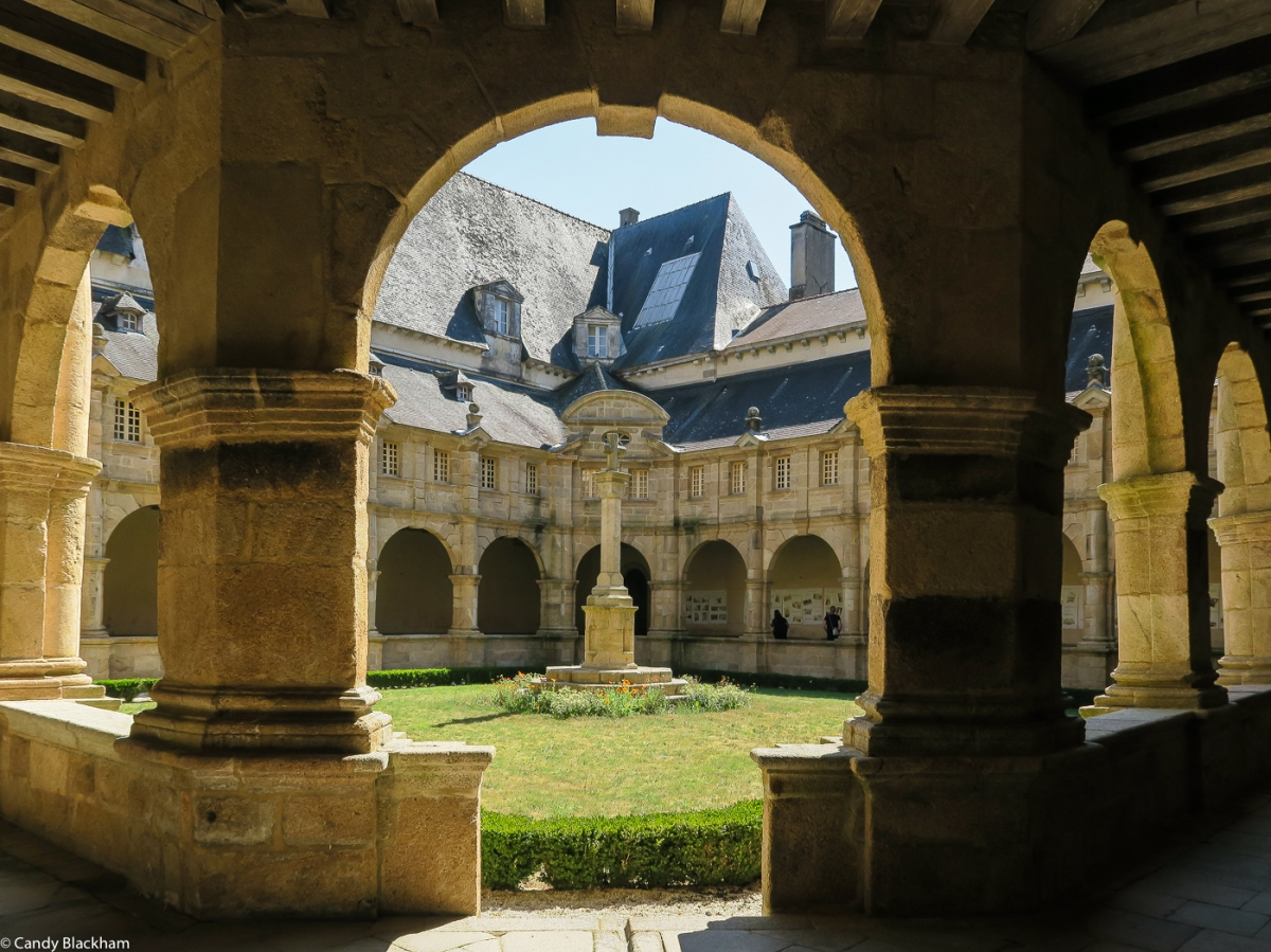 The Cloisters at The Church of Ste Anne d'Auray
