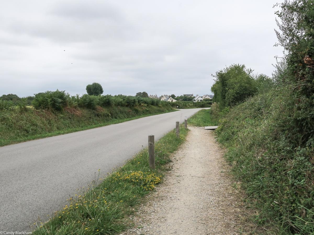 The road into Crucuno