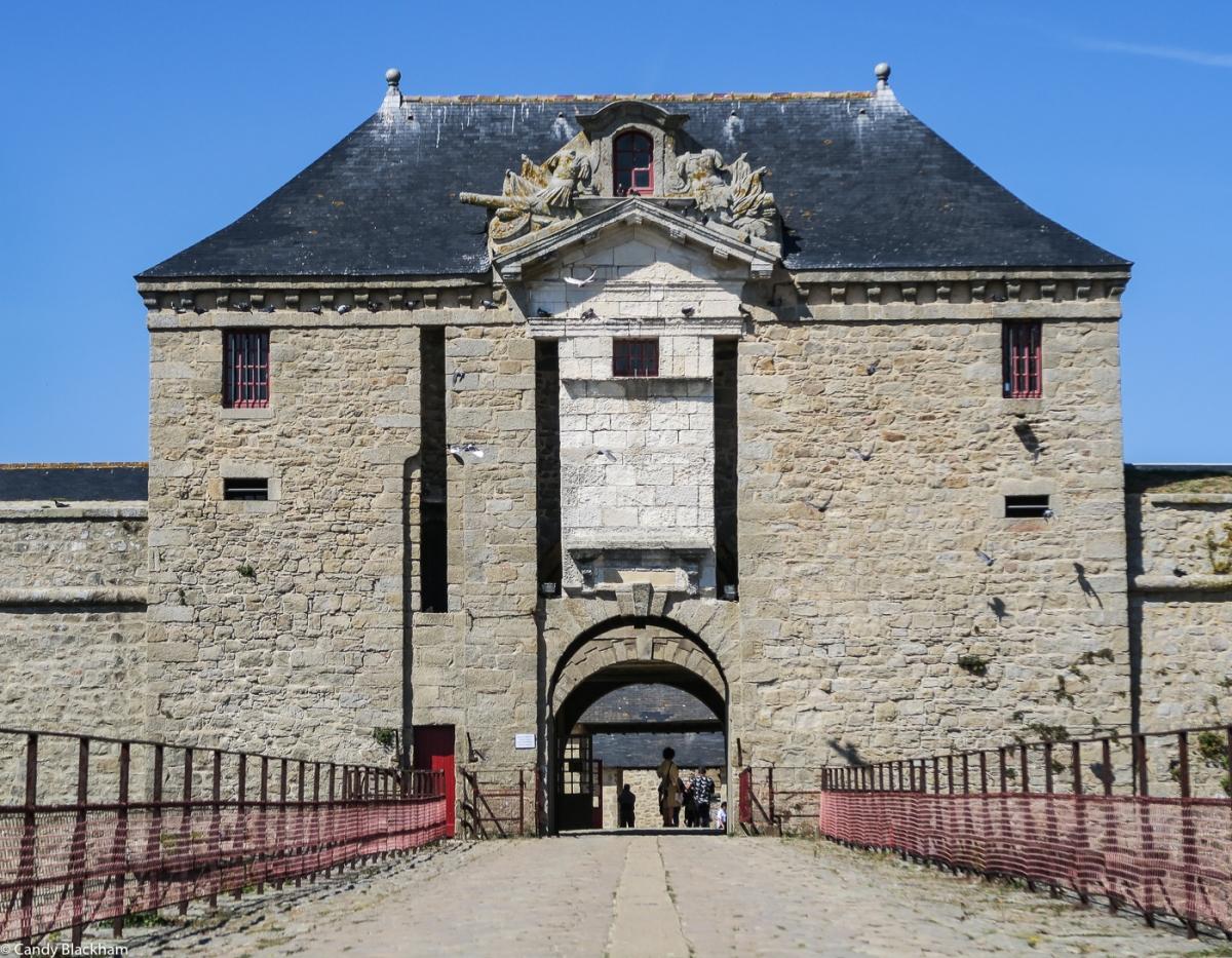The Bridge & Inner Gateway into the Citadelle
