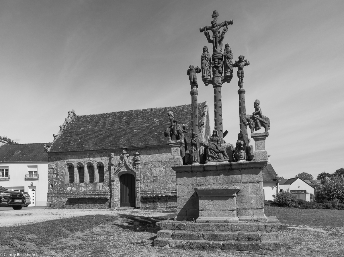 The Ossuary & Calvary at Notre Dame of the Assumption, Cleden-Poher