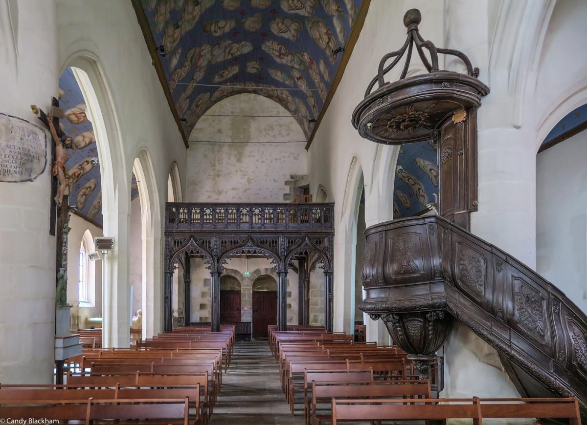 Notre Dame of the Assumption, Cleden-Poher