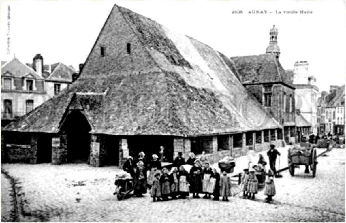 Auray old market halls, www.infobretagne