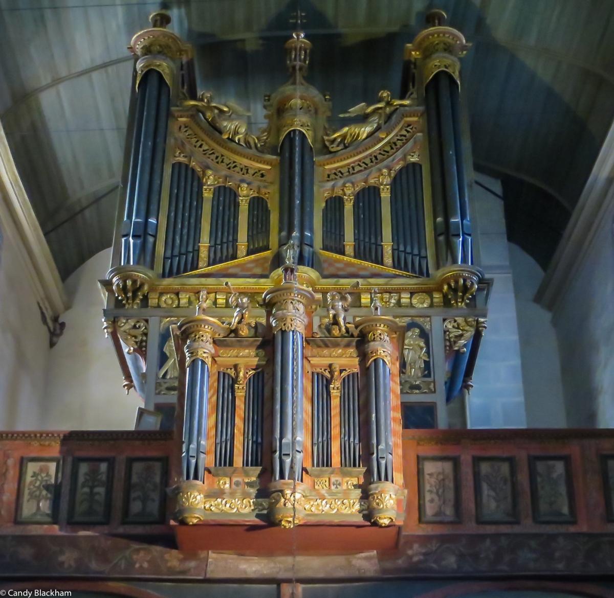The organ, St Thegonnec