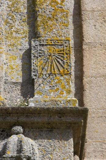 Sundial on the Ossuary, St Thegonnec